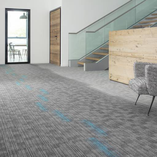 4B7O Roomset carpet TRUST 920 940 TRUST STRIPES 914 TRUST LINK 930 GREY 2